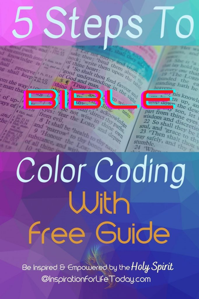 5 Steps to Bible Color Coding With Free Guide